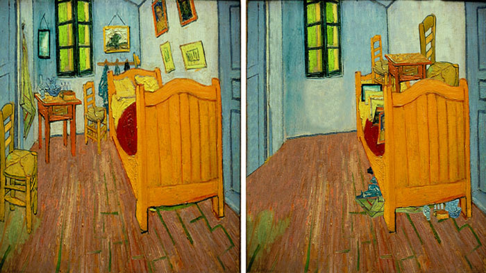 Bedroom in Arles van gogh nolmus 2