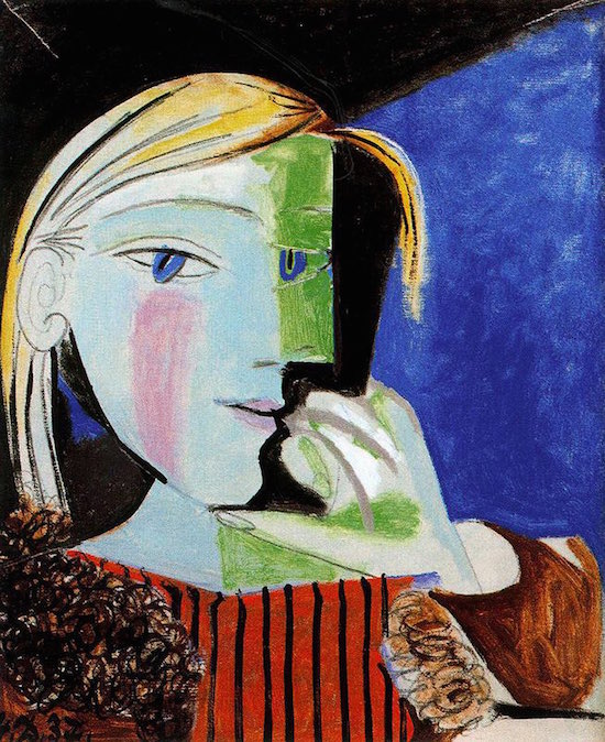 Marie Therese portre picasso 1937