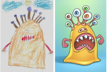 Monsters by Kids Faruk Tarinc