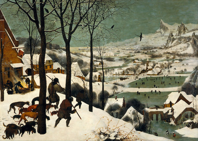 Pieter Bruegel Hunters in the Snow nolmus
