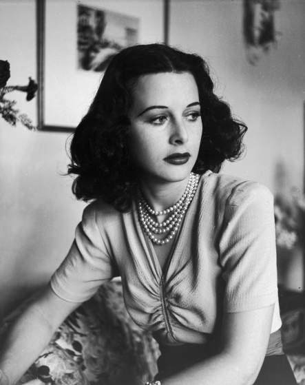 Actress Hedy Lamarr.