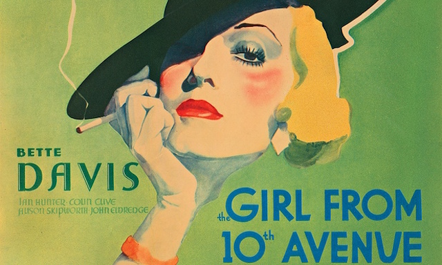 movie poster sale Bette Davis girl from 10th avenue