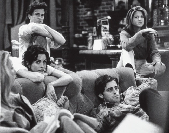 friends dizi prova kamera arkasi 7