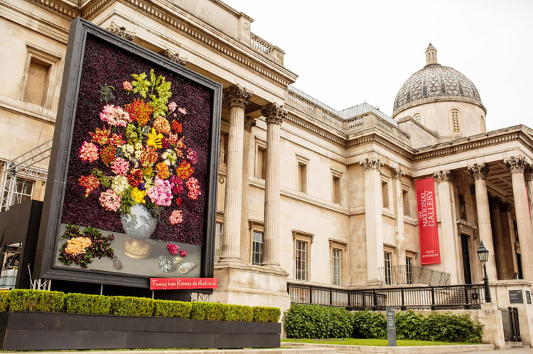 londra national gallery cicekler 2
