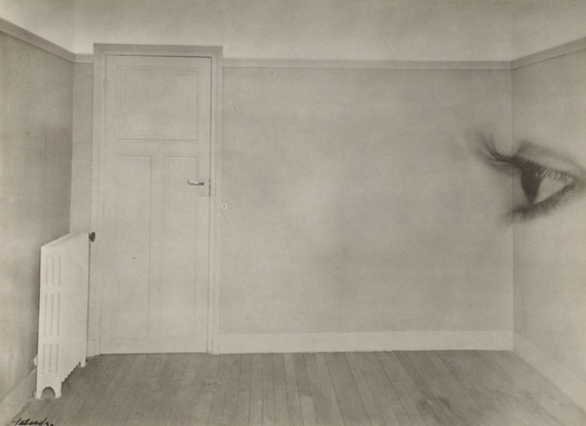 Maurice Tabard (French, 1897-1984) Room with Eye 1930