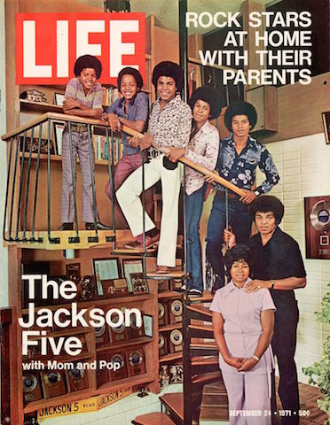 LIFE cover 09-24-1971 featuring The Jackson Five w