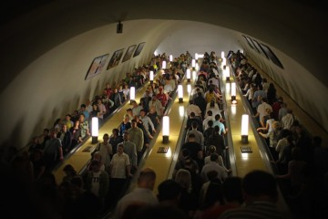 rush hour moscow